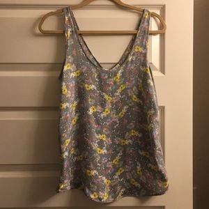 Free People sleeveless floral top